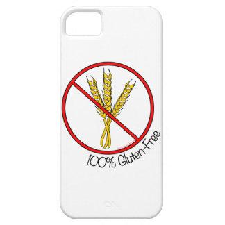 "iPhone Gluten-Libre 5 del ""100%"" iPhone 5 Funda"