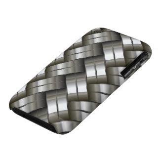 iPhone gris 3G/3Gs, caso del metal plateado de iPhone 3 Fundas