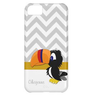 iPhone gris 5 Barely There de Toucan Chevron