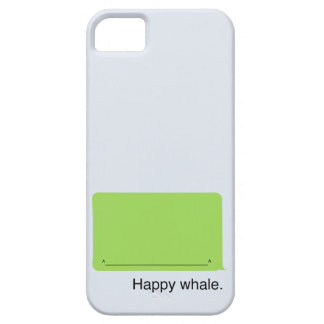 iPhone Happy Whale Case iPhone 5 Cover