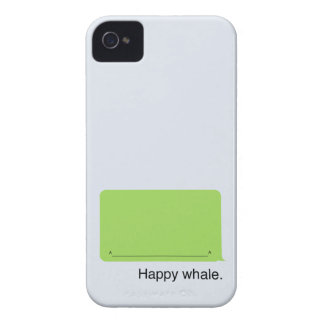 iPhone Happy Whale Case iPhone 4 Case