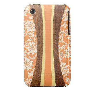iPhone hawaiano 3G de Barely There de la tabla iPhone 3 Case-Mate Coberturas