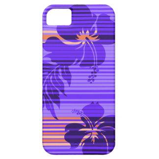 iPhone hawaiano 5Cases de la raya del hibisco de L iPhone 5 Cobertura