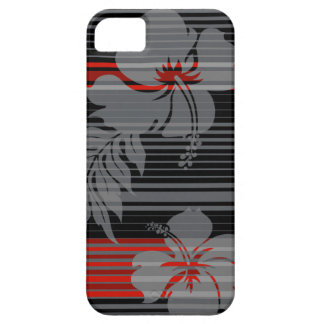 iPhone hawaiano 5Cases de la raya del hibisco de L iPhone 5 Case-Mate Fundas