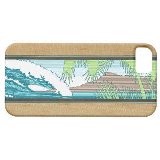 iPhone hawaiano de la muestra de la resaca de iPhone 5 Case-Mate Protectores