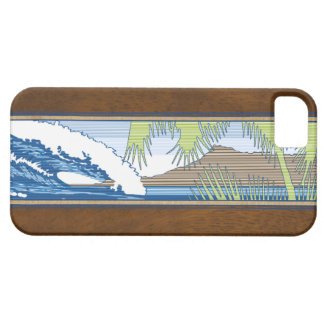 iPhone hawaiano de la muestra de la resaca de iPhone 5 Case-Mate Funda