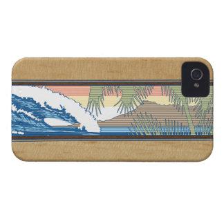 iPhone hawaiano de la muestra de la resaca de iPhone 4 Fundas