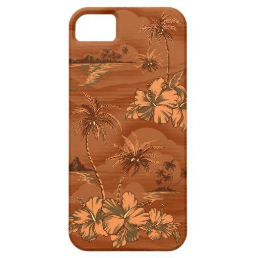 iPhone hawaiano de la playa de los naufragios 5 iPhone 5 Case-Mate Funda