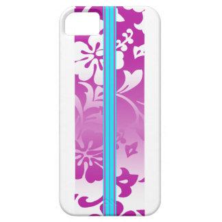 iPhone hawaiano de la tabla hawaiana de la playa d iPhone 5 Case-Mate Fundas