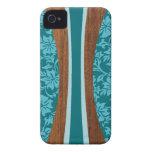 iPhone hawaiano de la tabla hawaiana de Laniakea 4 Case-Mate iPhone 4 Protectores