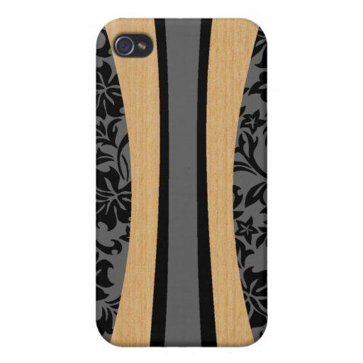 iPhone hawaiano de la tabla hawaiana de Laniakea 4 iPhone 4 Funda