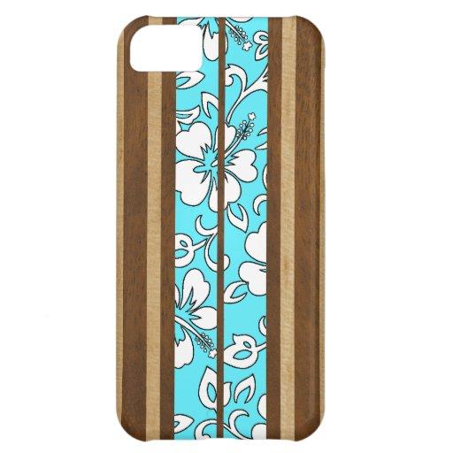 iPhone hawaiano de la tabla hawaiana del hibisco d