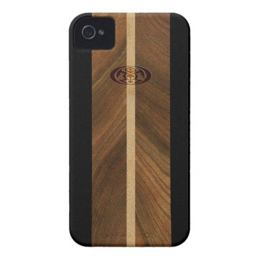 iPhone hawaiano de la tabla hawaiana del punto iPhone 4 Case-Mate Protector