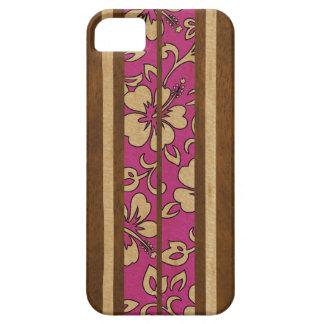 iPhone hawaiano de la tabla hawaiana del vintage d iPhone 5 Case-Mate Cárcasas