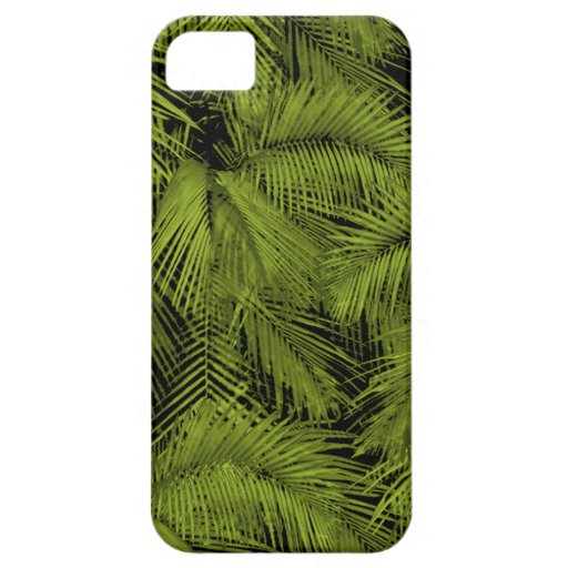 iPhone hawaiano de las palmas de Makana 5 casos iPhone 5 Case-Mate Coberturas