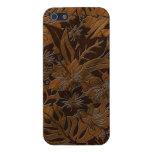 iPhone hawaiano de madera de la playa de Anini iPhone 5 Cárcasa