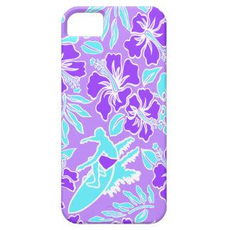 iPhone hawaiano de Pareau de la resaca 5 casos iPhone 5 Case-Mate Fundas