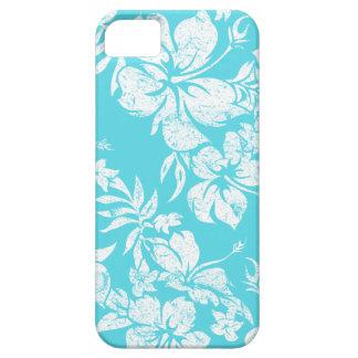 iPhone hawaiano de Pareau del hibisco 5 casos iPhone 5 Cárcasas