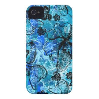 iPhone hawaiano del cordón de Wahine 4 casos Case-Mate iPhone 4 Coberturas