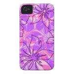 iPhone hawaiano del hibisco de Olowalu 4 casos iPhone 4 Case-Mate Fundas