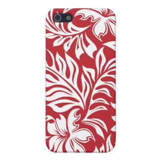 iPhone hawaiano del hibisco de Waikiki 4 casos iPhone 5 Carcasa