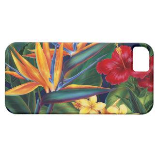 iPhone hawaiano del paraíso tropical 5 casos iPhone 5 Fundas