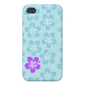 iPhone hawaiano floral de la isla 4 casos iPhone 4 Cárcasas