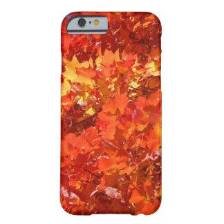 iPhone hermoso de las hojas de la caída 6 gracias Funda De iPhone 6 Slim