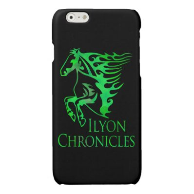 iPhone Ilyon Chronicles Green Horse Case