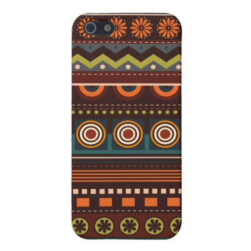 iPhone indio del modelo del nativo americano étnic iPhone 5 Carcasa