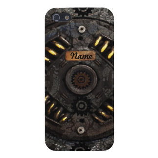 Iphone industrial de la máquina de Steampunk 5 eng iPhone 5 Carcasa