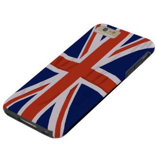 iPhone inglés 6/6S de la bandera más el caso duro Funda Para iPhone 6 Plus Tough