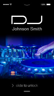 Music Dj Business Cards