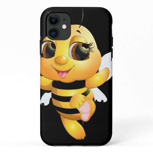 iPhone / iPad case - Cute bee