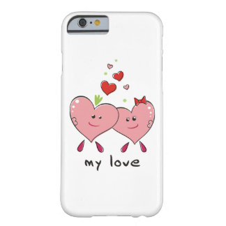 iPhone / iPad case Drawing hearts In love