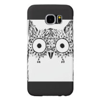 iPhone / iPad case Owl Art in Black