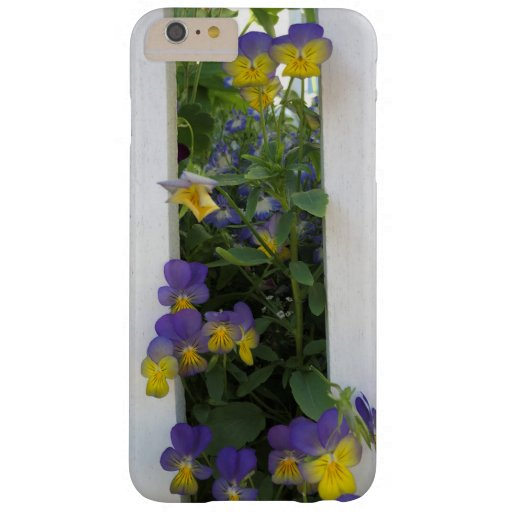 iPhone / iPad case Purple and yellow pansies
