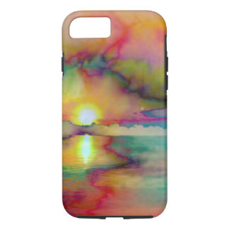 iPhone / iPad case/Watercolor-Sunset iPhone 8/7 Case