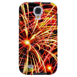 Iphone/Ipad Case with Brilliant Colored Fireworks