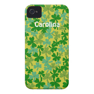 Iphone irlandés conocido de encargo 4g de los tréb iPhone 4 fundas