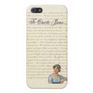 iPhone Jane Austen para citar el caso de Jane iPhone 5 Funda