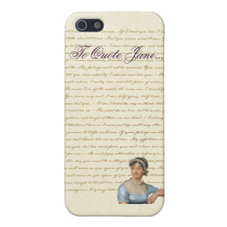 iPhone Jane Austen To Quote Jane case