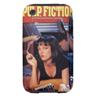 Iphone layer 3gs Pulp Fiction iPhone 3 Tough Case