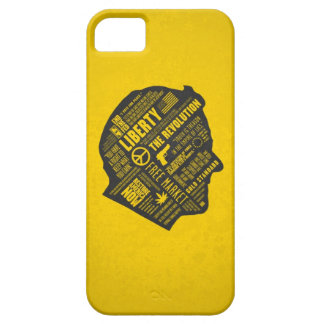 iPhone libertario 5 del pensamiento abstracto de R iPhone 5 Case-Mate Cobertura