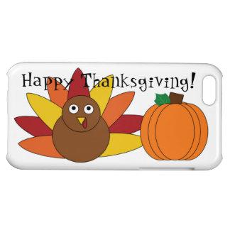 iPhone lindo 5c de la acción de gracias Turquía y