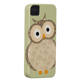 Iphone lindo del búho 4 casos iPhone 4 Case-Mate fundas