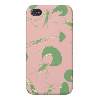 iPhone listo 4 de la caja ventosa de los grillos iPhone 4 Fundas