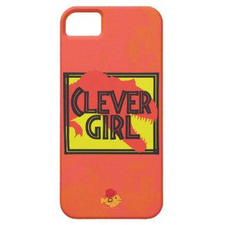 Iphone listo del chica de CRAZYFISH Funda Para iPhone 5 Barely There