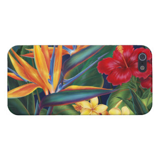 iPhone listo hawaiano del paraíso tropical 5 casos iPhone 5 Carcasa