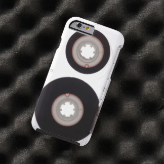 iPhone: Magnetic Tape Audio Cassette. Protection Tough iPhone 6 Case